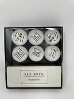 Rae Dunn Globe Magnets With Numbers New