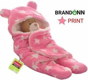BRANDONN 3 in 1 Baby Blanket/Safety/Sleeping Bag, Rich Grey