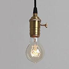 E27 Vintage 40W Light Retro Edison Style Spiral Filament Light Bulb UK 3PCS