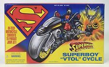SUPERMAN MAN OF STEEL SUPERBOY VTOL CYCLE NRFB