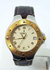 Mens S/Steel & 18k EBEL SPORTWAVE Quartz Watch Ref. E6187613* EXLNT* SERVICED