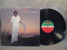 33 RPM LP Record Ben E. King Let Me Live In Your Life 1978 Atlantic SD 19200 EXC
