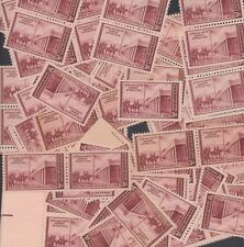 {Bj Stamps} 944 Santa Fe Kearny Expedition. 3¢ Stamps 100 mint stamps. 1946