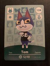 Animal Crossing Happy Home Designer Series 2 US Amiibo Card #128 Tom wow RARE