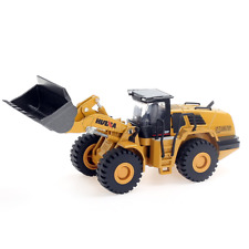 1/50 Scale Diecast Four Wheel Loader Truck Metal Bulldozer Construction Toys