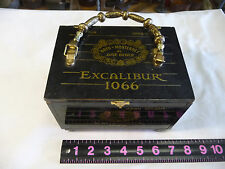 Hoyo deMonterrey de Jose Gener Dark Knight Excalibur 1066 Wooden Cigar Box Purse
