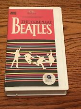 THE COMPLEAT BEATLES VHS MUSIC VIDEO IN CLAMSHELL CASE ~ 1988