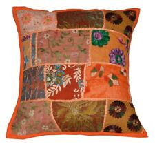 """16"""" Patchwork Vintage Pillow Cushion Cover Throw Ethnic Decorative Indian Art"""