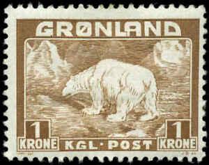 Greenland Scott #9 Mint Hinged
