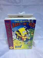 The Simpsons Bart vs the World NEW Factory Sealed Game Gear