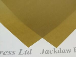 25 x Vellum Coloured Translucent Tracing Paper A4 160gsm 3 Colours Cardmaking