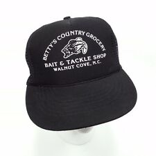 1980s Betty's Country Grocery Bait & Tackle Shop Foamie Snapback Hat