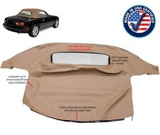 MAZDA MIATA Convertible Soft Top & Heated Glass Window TAN Cabrio 1990-2005