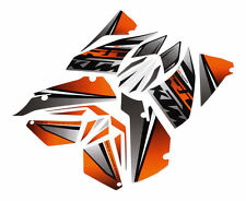 """KTM GRAPHIC KIT """"NEON"""" RC 390 CUP USA /RC 390 WHITE ABS B.D. 90208999100"""