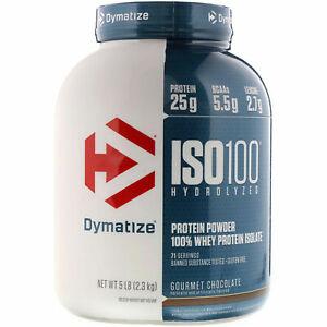 DYMATIZE- ISO 100 - HYDROLYZED WHEY PROTEIN ISOLATE WPI Iso100