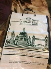Job Lot 2 Ahmad Tea Plastic Carier Bags