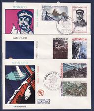 MONACO   enveloppe 1er jour   carrière d'un navigateur   mai  1977
