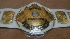 New White Winged Eagle World Championship Replica Leather Belt Adult size