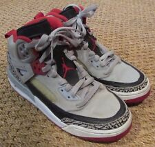 Nike Jordan Spizike BG High Tops – Wolf Grey/Gym Red-Black SZ 5.5Y #317321-013
