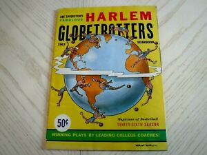 1963 HARLEM GLOBETROTTERS YEARBOOK PROGRAM -Exc. condition