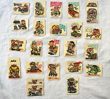 Vintage 1970 Donruss Odder Odd Rods Cards Lot Of 25
