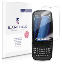 iLLumiShield Phone Screen Protector w Anti-Bubble/Print 3x for HP Pre 3