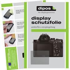 6x dipos Sony Alpha 7 S Schutzfolie Displayschutzfolie Antireflex Testsieger