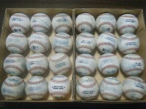 "24 Minor League Practice ""White"" baseballs 2021 BP"