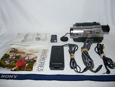 Sony Handycam CCD-TRV108 8mm Video8 HI8 Camcorder Player Camera Video Transfer