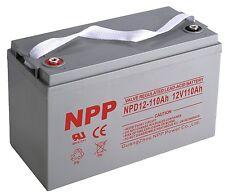 NPP 12V 110Ah Deep Cycle Group 30H AGM Battery for RENOGY PV SOLAR PANELS