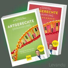 ARTGERECHTE ERNÄHRUNG | DR. MATTHIAS RIEDL | Basiswissen + Kochbuch (Buch-Set)