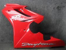 07 Triumph Daytona 675 Triple Left Side Fairing Cowl L10