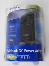 Kensington 70W Notebook DC Power Auto/Air Adapter - Model 33195 Brand New