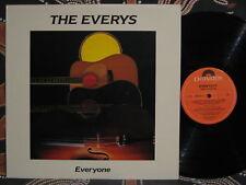 THE EVERYS Everyone1988 Oz Rural/Folk-Rock (Australian) LP NM