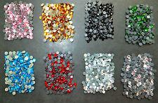 400 Hot Fix Iron on RHINESTONES 3mm SS10 Flat Back Best Quality -Diamond Shine