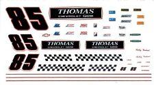 #85 Bobby Gerhart 1992 Lumina THOMAS CHEVROLET GEO 1/24th Scale Decals