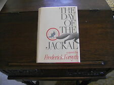 THE DAY OF THE JACKAL, Frederick Forsyth, SIGNED 1st ed./1st print US,1971 HCDJ