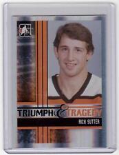 RICH SUTTER 11/12 ITG Broad Street Boys Base Card #49 Philadelphia Flyers SP