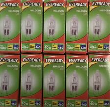 33w (40w) G9 Halogen Capsule Dimmable Safety Fused Clear (eveready S10110)
