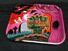 Raw Zombie Large Limited Edition Halloween Rolling Tray