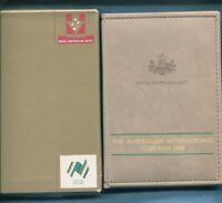 1988 Australia Proof Coin Set Folder inc Box & Certificate Coin Fair Issue Q-335
