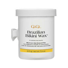 Gigi Ladies Brazilian Hard Wax Bikini Waxing Hair Remover Removal Pot Strip Free