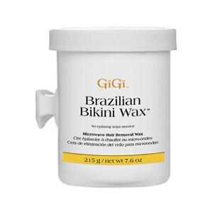 Gigi Ladies Brazilian Hard Wax Bikini Waxing Hair Remover Removal Pot Strip Free