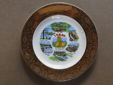 "STATE OF IDAHO 10"" PORCELAIN COLLECTOR'S PLATE WITH WALL MOUNT"