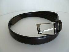 Giorgio Borsani Brown Leather Belt ABL Cinture Made in Italy