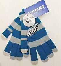Philadelphia Eagles Women's Stretch Knit Gloves w/Texting Tips