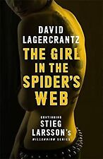 The Girl in the Spiders Web  (Millennium Series), Lagercrantz, David, Used; Good