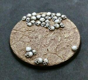 60mm resin base Skulls (a)