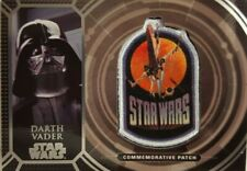 STAR WARS 40th ANNIVERSARY Retro Patch Relic Card DARTH VADER PC - 9