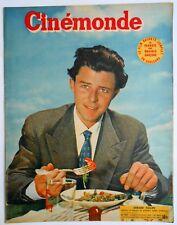 ►CINE MONDE 937/1952-GERARD PHILIPE-JANE RUSSEL-ROBERT MITCHUM-LANA TURNER...